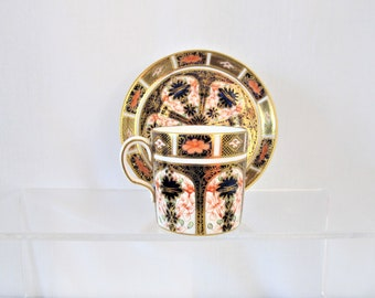 1029 Royal Crown Derby, 2nd Quality, Coffee Can & Saucer Duo - Imari 1128 pattern  (4)