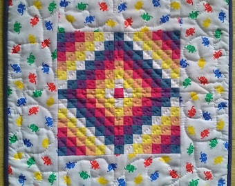 Miniature Quilt - Sunshine and Shadow