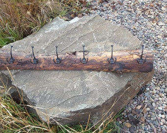 Rustic and One of a Kind Coat Rack - Must See!