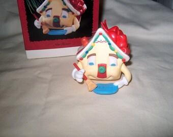 Vintage Hallmark Ornament, Happy New Home, Christmas, 1995