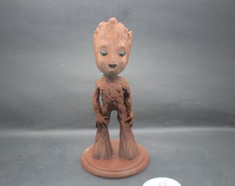 I am Groot. 8 Inch Figurine from Guardians of the Galaxy II Movie