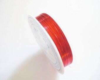Wire copper jewelry 0.4 mm-10 m
