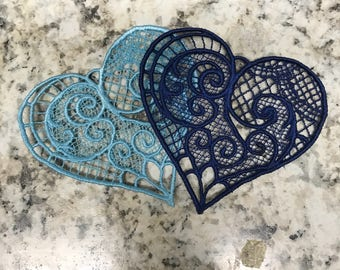 Freestanding Lace Heart
