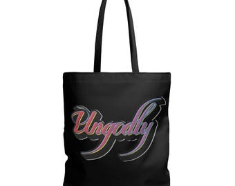 Ungodly 5 Double Sided Tote Bag