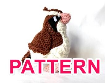 Pidgey pokémon crochet pattern