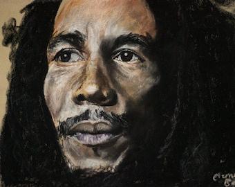A4 Bob Marley Print