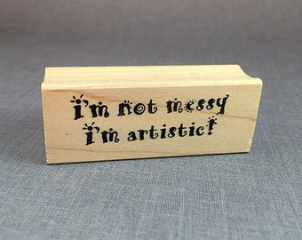 Artistic Rubber Stamp