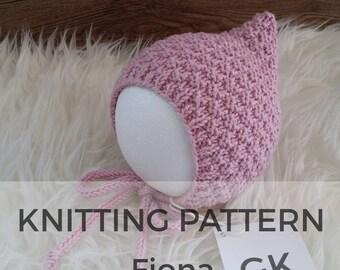 Fiona Baby Pixie Hat Pattern, knit pattern, pixie hat pattern