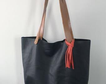 Leather purse/tote