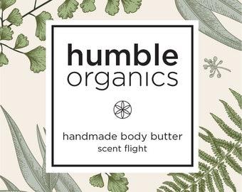Flight of 4 Organic Body Butters
