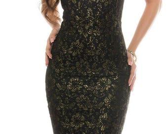 Vintage tango halter dress