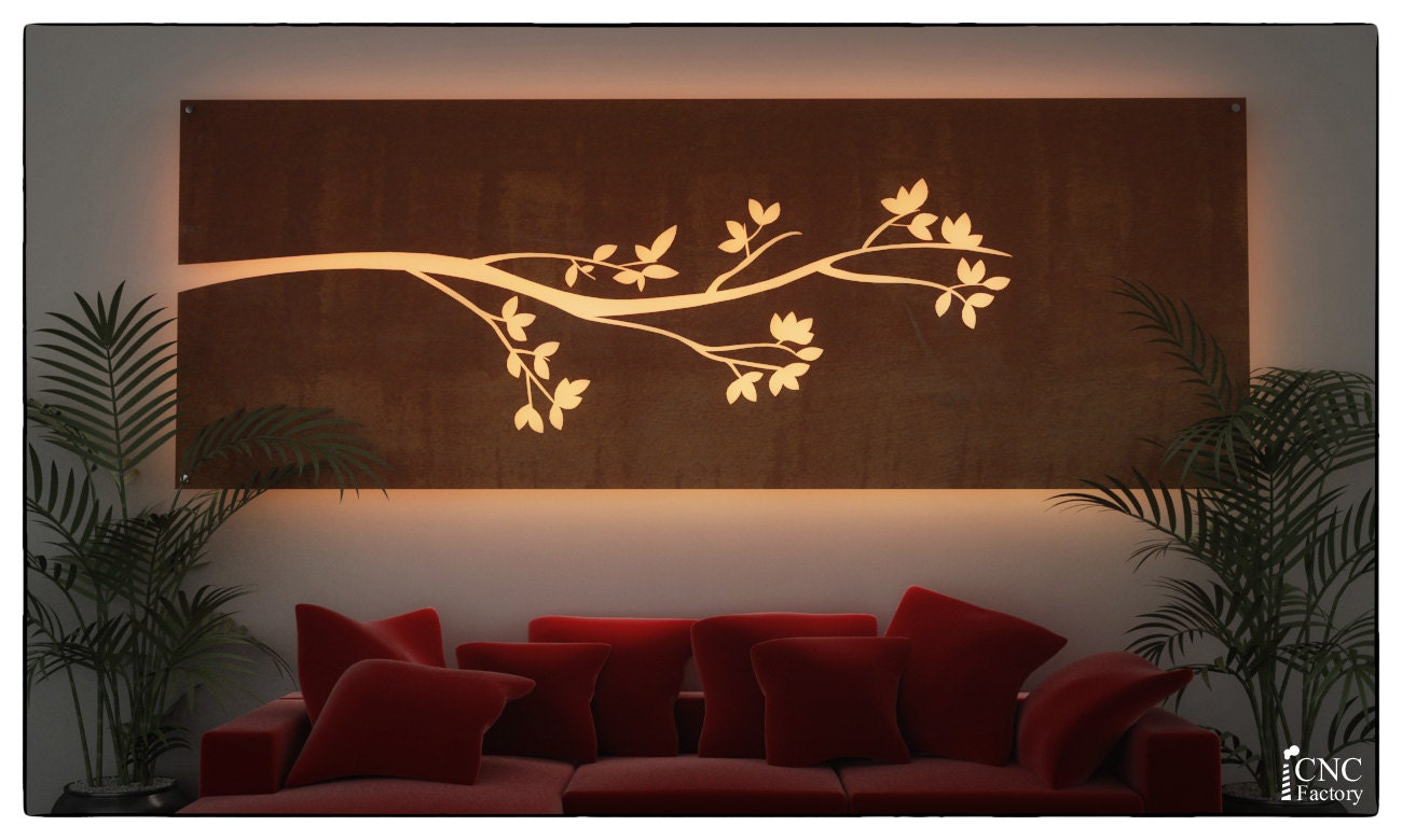 Wall light panel silhouette cnc template cutting file zoom aloadofball Gallery