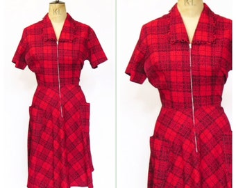 1950s Dress With Pockets