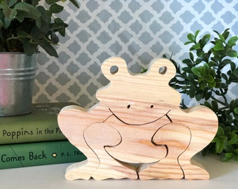 Froggy Wood Puzzle