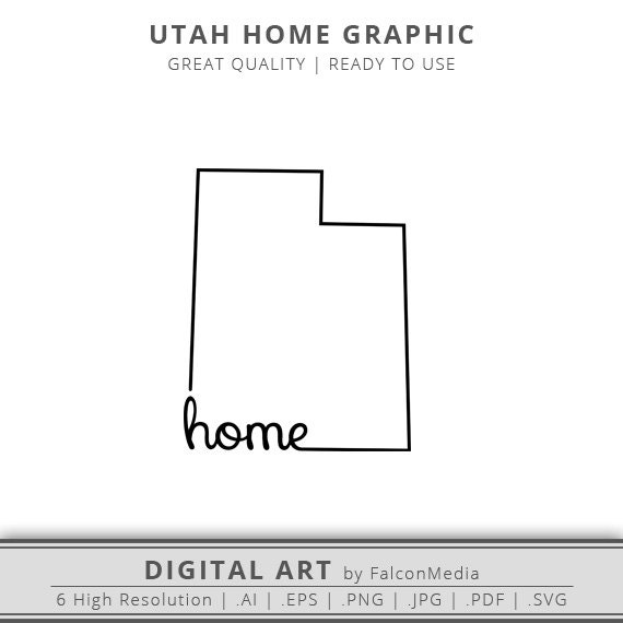 State Of Utah Clipart