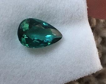 Indicolite Tourmaline 1.02 ct Pear Cut- Very Nice Stone!