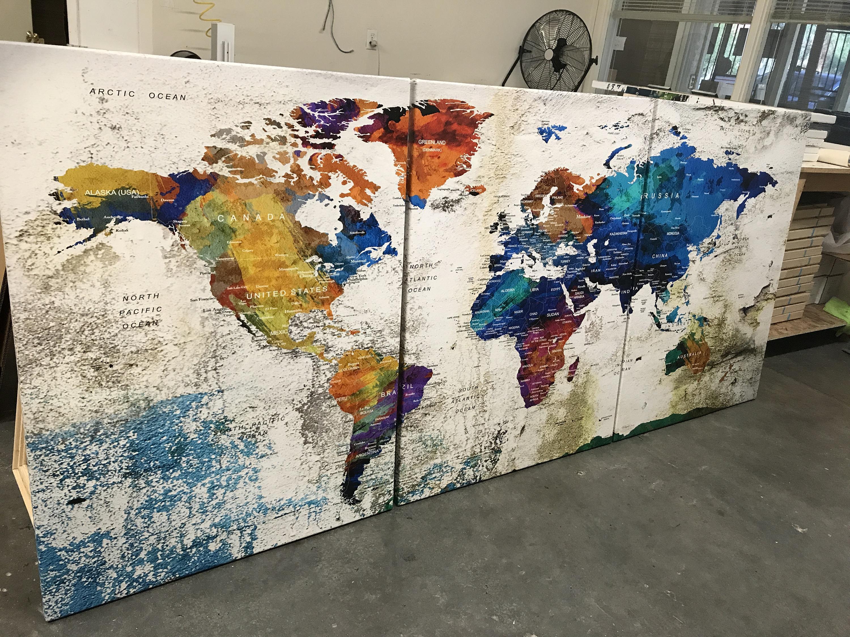 World map canvas push pin world map print art world map travel world map canvas push pin world map print art world map travel large world map print world map wall art watercolor world map art print gumiabroncs Images