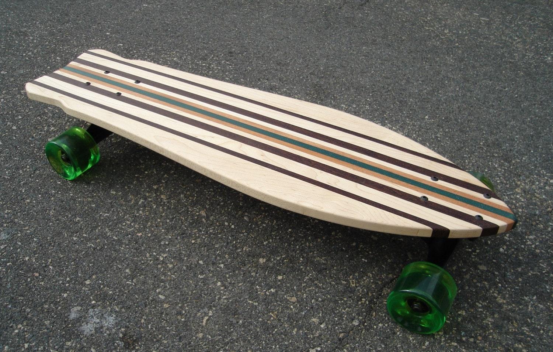 Longboard / Skateboard 36 x 10 Massivholz