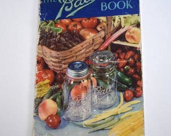 Vintage The Ball Blue Book