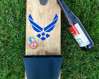 Air Force Mounted Bottle Opener