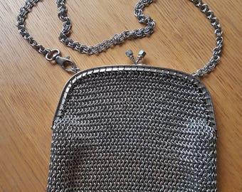 5.  Sporran, Chainmail Handbag, Chainmail Clutch, Evening Handbag, Handheld Bag, Shoulder Bag.