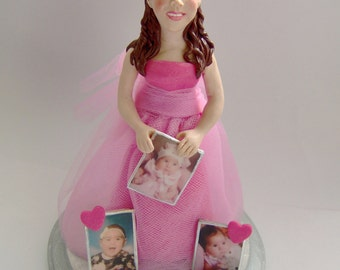 Quinceanera Cake Topper Created in Your Likeness * This is for the Deposit Only