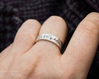 Sassenach Ring/Outlander Ring/ Jaime and Claire/Scottish/Highlander/Outlander Jewelry/Claire fraser gift/Outlander Series/Sassenach Gift