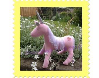 Flump the baby Unicorn