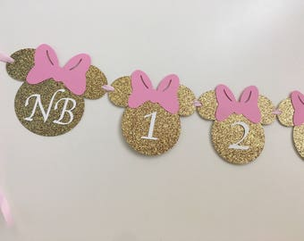 Minnie Mouse timeline banner