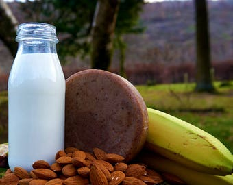 Banana & Almond Milk Soap Bar (Vegan)