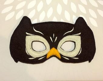 Owl Felt Mask