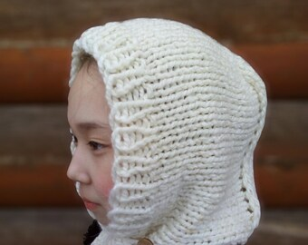 Knitting pattern hood pdf