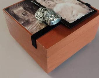Indonesia Themed Wooden Box