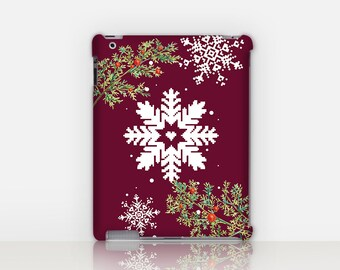 Christmas iPad Case For - iPad 2, iPad 3, iPad 4 - iPad Mini - iPad Air - Mandala