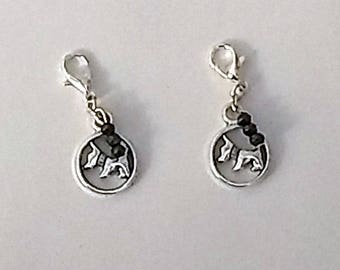 Scottie Hearing Aid Charms