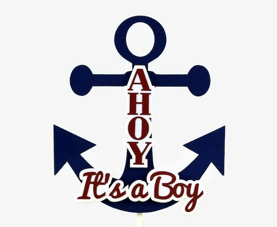 Anchor Cake For Baby