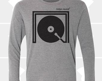 Listen Round - Unisex Long Sleeve Shirt