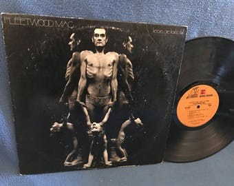 """Vintage, Fleetwood Mac - """"Heroes Are Hard To Find"""", Vinyl LP, Record Album, 1974 Original First Press, Coming Home, Come A Little Bit Closer"""