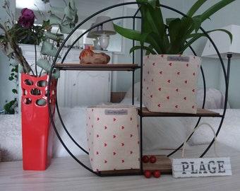 empty basket planter in any home decor veronpiotcreation linen storage Pocket