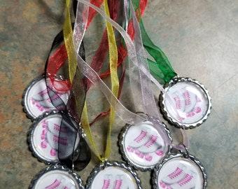7 patin à roulettes Pop Cap collier Lot parti cadeaux