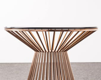 Custom Metal Dining Table Base,  Glass Dining Table Base For Sale, Dining Table Solid Metal Dining Table Leg 28.80'' from IvaDecorStudio