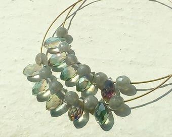 Large hoop earrings sunny