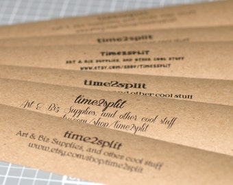 Kraft Paper Belly Bands (100) ... Product Wrap Blank or Printed Invitations Labels Seller Supplies Wedding Paper Ribbon Kraft Brown Paper