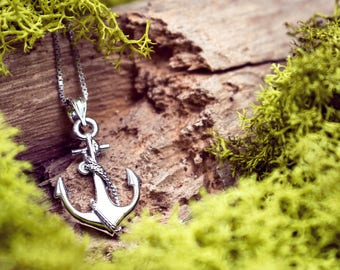 Anchor Necklace Pendant