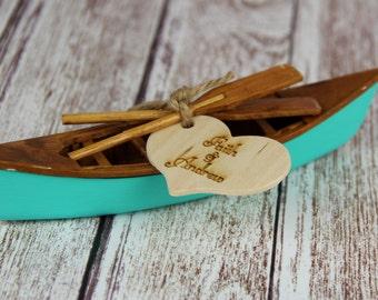 Canoe Cake Topper, Canoe Cake, Canoe Wedding