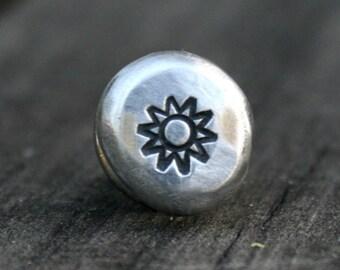 Tie Tack - Lapel Pin - Sun