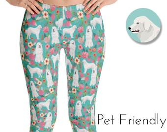 Great Pyrenees Dog - All-over print leggings
