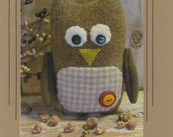Hootie Owl Pattern by Cottonwood Creations (CWC617)