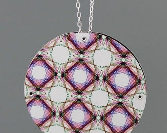 FLASH SALE Reversible Fractals Pendant