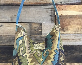 Large Native American Hobo Shoulder Bag